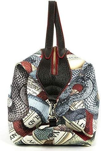 Guillermo Mariotto Women's Bag Anaconda Multi Brown