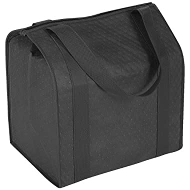 Hannah Insulated Shopping Bag, Black
