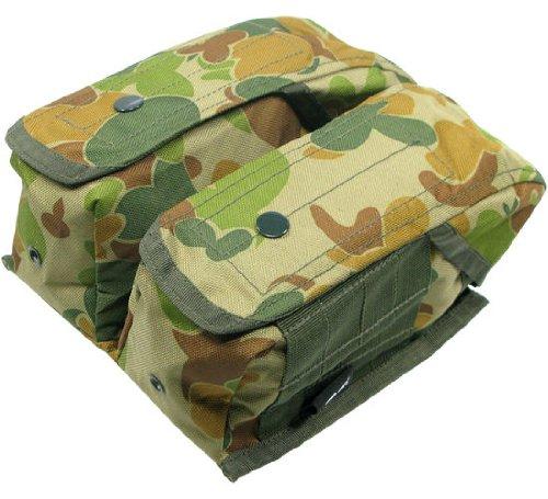BE-X Magazintasche -AK- für Modularsystem, für 6 AK Magazine - auscam