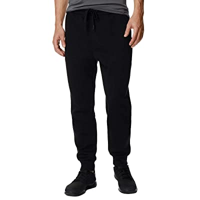 32C 32 Degrees Mens Fleece Jogger Pant (Black, XL): Sports & Outdoors