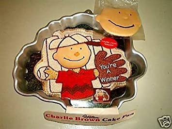 Amazoncom Wilton Charlie Brown with Baseball Glove or Football