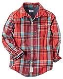 Carter's Baby Boys' Long sleeve Woven Plaid Shirt 18 Months