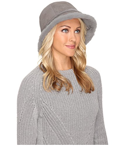 UGG Sheepskin Cloche Women | Stormy Grey (Ugg Bucket Hat)