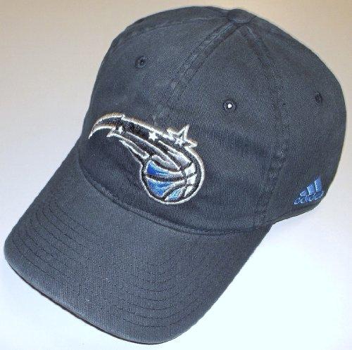 NBA adidas Orlando Magic Black Basic Logo Flex Slouch Hat - (Small/Medium) (Slouch Flex Hat)