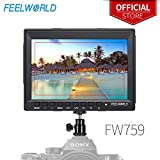 Best HD Monitor For DSLR Shoes - Feelworld FW759 7 Inch IPS Screen HD 1280x800 Review
