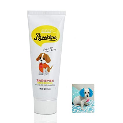 Amazon.com: Dog Hair Dye Gel Natural Healthy Coloring Cream ...