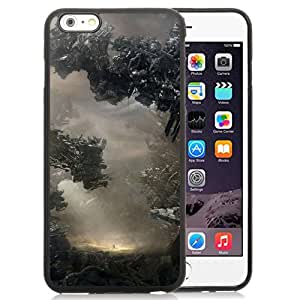 New Custom Designed Cover Case For iPhone 6 Plus 5.5 Inch With Debris Fantasy Mobile Wallpaper Phone Case