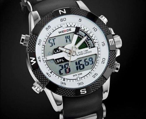 Weide Men S Digital Electronic Waterproof Led Sport Watch