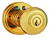 Morning Industry RKK-01P Radio Frequency Remote Door Knob (Polished Brass)