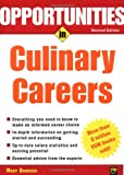 Opportunities in Culinary Careers, Mary Donovan, 0071411488
