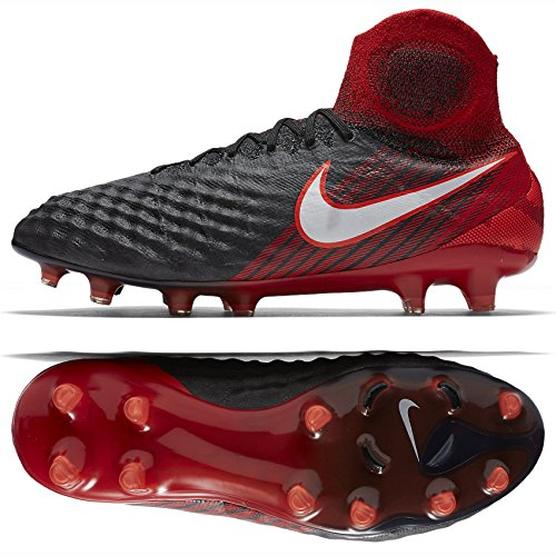 Magista De Nike Red Black university Homme Football Chaussures Fg white Obra Ii SwdZq