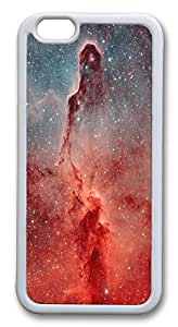 Nice iPhone 6 Cases, ACESR Elephant Trunk Nebula Back Cover Case for Apple iPhone 6(4.7inch) TPU White