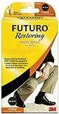 Futuro Restoring Dress Socks for Men,Black, Large, Firm Compression, Health Care Stuffs