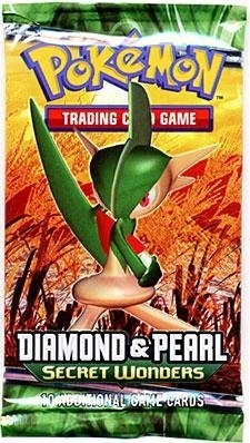 - Pokemon Diamond & Pearl Secret Wonders Booster Pack