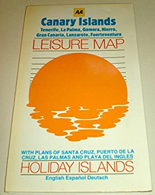Canary Islands Leisure Map (Holiday islands): Amazon.es ...