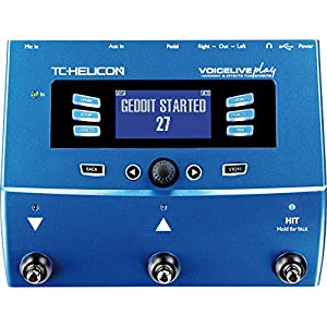 TC-Helicon VoiceLive Play Vocal Effects Pedal...