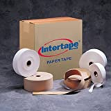 Intertape T2600 Medium Duty Gum Side In Convoy Tape, 600' Length x 2'' Width, Kraft (Case of 15)