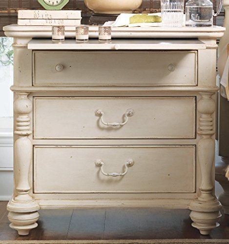 Paula Deen Home 996350 Pauls Drawer Nightstand, Linen