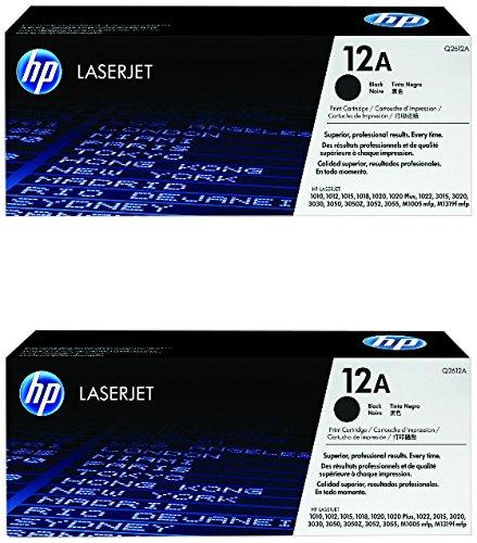 HP 12A (Q2612A) Black Original Toner Cartridge, - Toner Hp Q2612a
