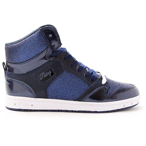 High-top Sneaker E Danza Scarpa Pasticceria Glam Torta Di Scintillio Per Le Donne Della Marina
