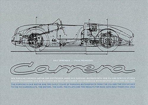 Porsche Carrera: Der Porsche Carrera-Motor und die frühen Jahre des Porsche-Motorsports (Edition Porsche-Museum)