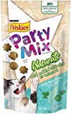 Friskies Party Mix Cat Treats, Naturals, with Real Tuna, 2.1-Ounce Pouch, Pack of 10