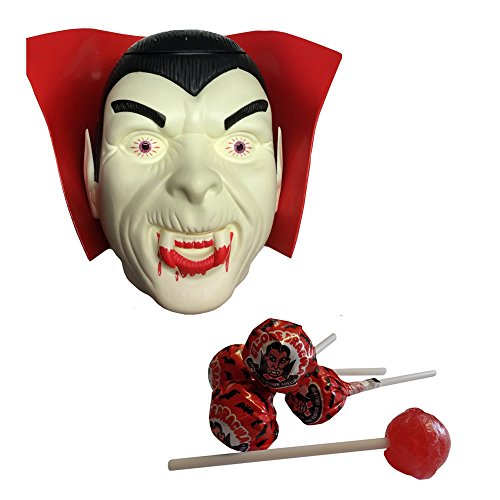 Large Dracula Head with flashing eyes Crammed With 230 Cherry - Dracula Head