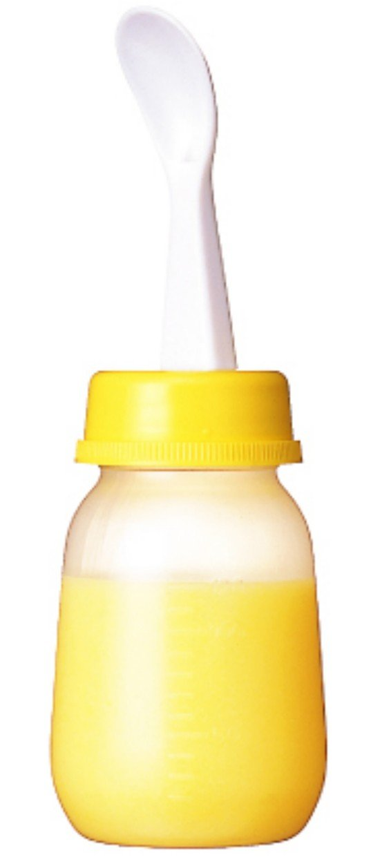PIGEON Baby Weaning Bottle with Spoon D012