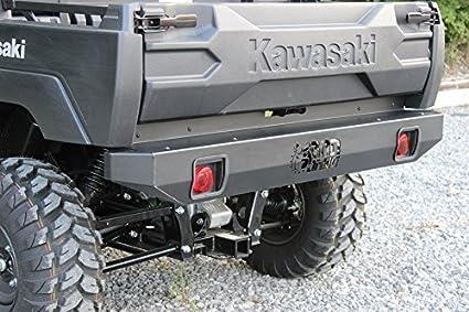 Amazon.com: Bad Dawg Accessories Kawasaki Mule Pro FXT Rear Bumper