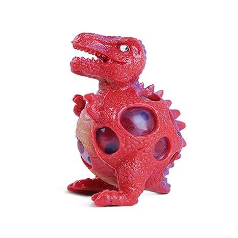 Qianming Modelo de Dinosaurio Bolas de venteo de UVA Apretón de presión Bola de estrés Juguete