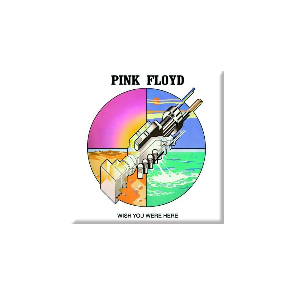 EMI   Pink Floyd Magnet Wish You Were Here Graphic
