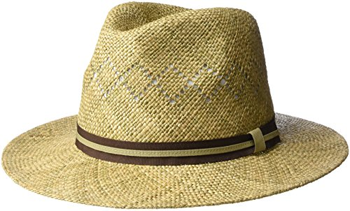 Country Gentleman Men's Vented Outback Linenweave Fedora ...