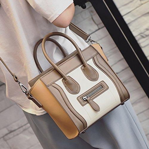Brownish Con Moda Mano Y White Diseño Alas De Color Bolso Negro Zazero fxAvq7wSa