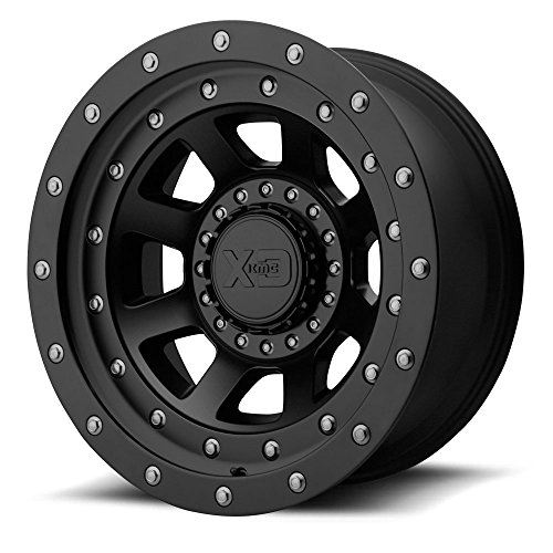 XD Series XD137 FMJ 20×12 8×165.1 -44mm Satin Black Wheel Rim