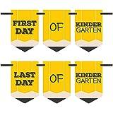 Kindergarten - Back To School - First & Last Day of School Bunting Banner Photo Prop