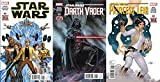 STAR WARS #1, DARTH VADER #1, & PRINCESS LEIA #1 SET - Set of 3 New Marvel Star Wars Comics!!