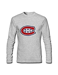 Boys Girls Long Sleeves T-shirts Tops For Montreal Canadiens Classic