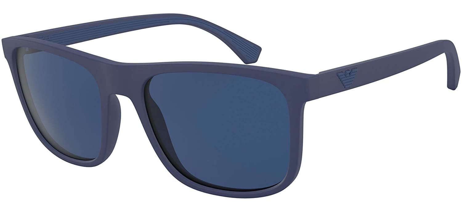 Emporio Armani EA 4129 BLUE/BLUE 56/19/142 men Sunglasses at ...