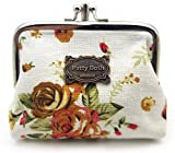 Cute Classic Floral Exquisite Buckle Coin Purse-Patty Both (06)