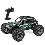 RC Truck 1: 16 All Terrain RC Car, 36km/h 4WD Off-Road RC Trucks, 2.4Ghz High Speed RC Cars for Adults & Kids Radio Controlled Electronic Cars (Green)