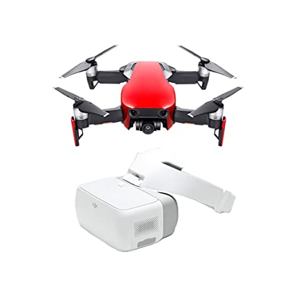 DJI Mavic Air Fly More Combo Goggles Flame