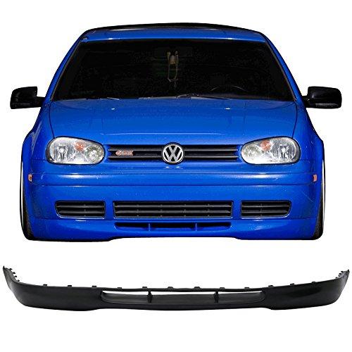 Front Bumper Lip Fits 1999-2006 Volkswagen Golf   OE 20th Style Black PU Splitter Spoiler Valance Chin Diffuser by IKON MOTORSPORTS   2000 2001 2002 2003 2004 2005