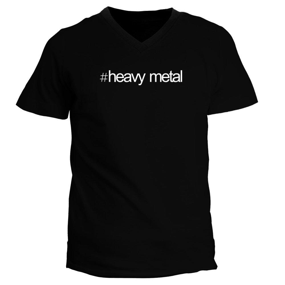 Idakoos Hashtag Heavy Metal - Musica - Camiseta Cuello V: Amazon.es: Ropa y accesorios
