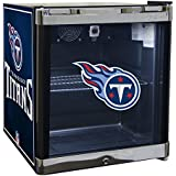 Glaros Officially Licensed NFL Beverage Center / Refrigerator - Tennessee Titans