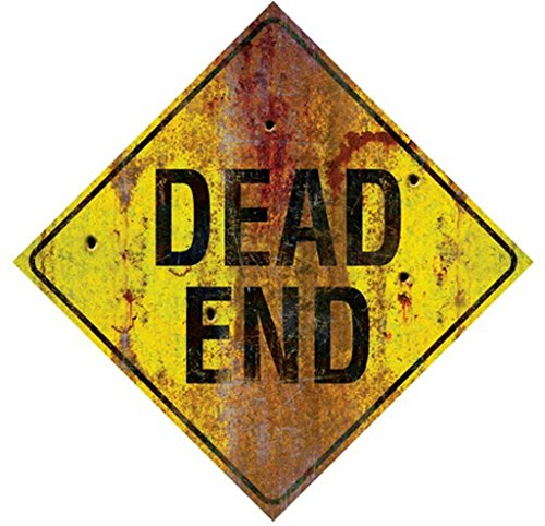 (METAL SIGN-DEAD END)