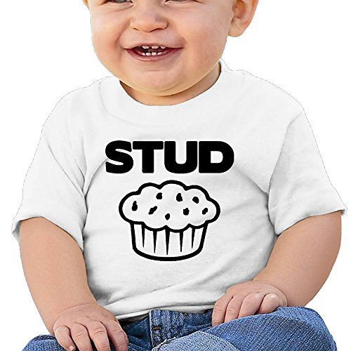 Stud Muffin Infant Toddler Short Sleeve T-Shirt 24 Months