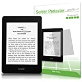 Kindle Screen Protector, amFilm® Kindle Anti-Glare/Anti-Fingerprint (Matte) Premium Screen Protector for Kindle, Kindle Paperwhite, Kindle Paperwhite 3 and Kindle Touch (2-Pack) [Lifetime Warranty]
