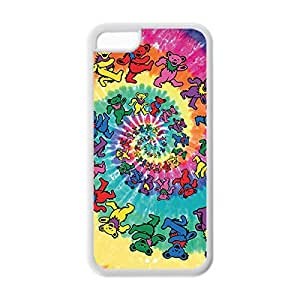Stunning Image Design with Grateful Dead Ultra Slim Printed Soft TPU case Snap-on cover for iphone 6 4.7 _White 30604