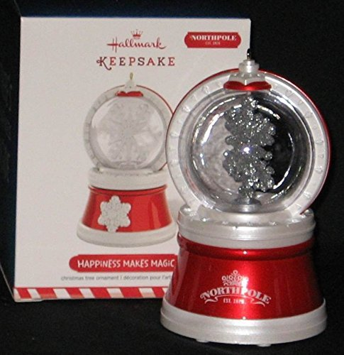 Hallmark 2015 - Happiness Makes Magic - Rare HTF Ornament by Hallmark ()