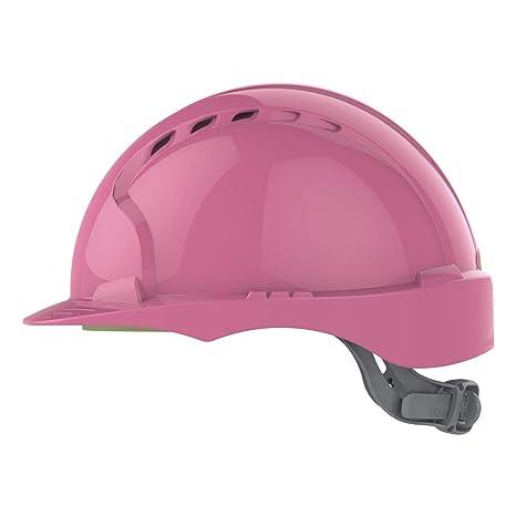 JSP AJF030-003-900 Evo2/Sicherheits-Helm mit Ratschenverschluss bel/üftet Pink